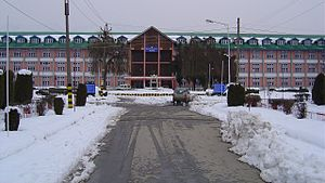 NIT Srinagar winter