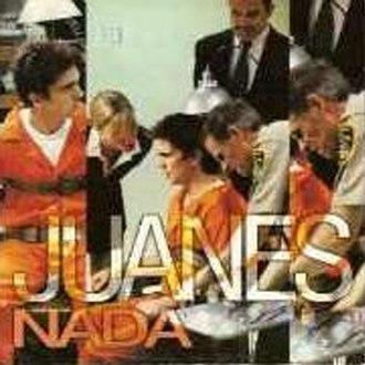 Nada (Juanes song) - Image: Nada (single cover)