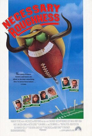 Necessary Roughness (film) - Theatrical release poster