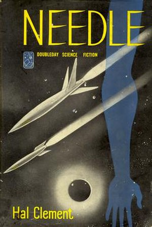 Needle (novel) - Cover of first edition (hardcover)
