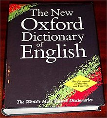 Oxford Dictionary of English - Wikipedia