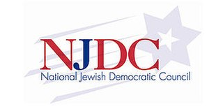 National Jewish Democratic Council organization