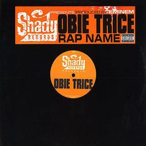 Rap Name - Image: Obie Trice Rap Name vinyl cover