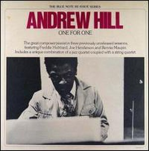 One for One (Andrew Hill album) - Image: One for One