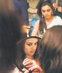 Getting Ready on the Sets of KANK