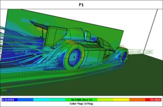 ParaView - flow simulation using OpenFOAM and ParaView for visualization
