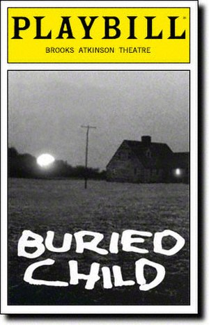 Buried Child - Original playbill for Broadway's 1996 production