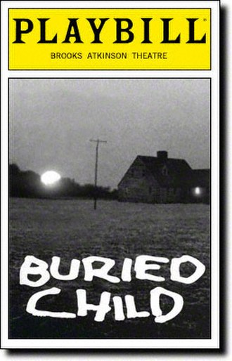 Buried Child - Cover of Playbill for 1996 Broadway production