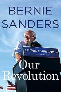 <i>Our Revolution</i> (book) book by Bernie Sanders