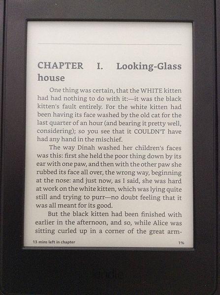 Kindle. Source: Wikipedia
