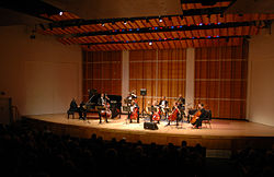 Performance at Merkin Concert Hall 7-27-2007.jpg