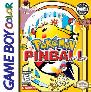 Pokémon Pinball - Image: Pokémon Pinball Coverart