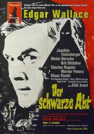The Black Abbot (1963 film) - Film poster to Der Schwarze Abt