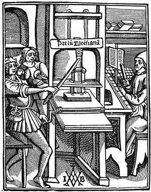 Jodocus Badius - Image: Prelum Atcensianum