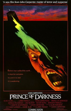 Prince of Darkness (film) - Theatrical release poster