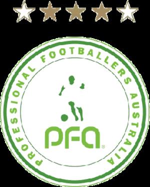 Professional Footballers Australia - Logo:Professional Footballers Australia