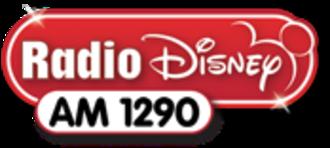 """WDZY - Final """"Radio Disney"""" logo for WDZY."""