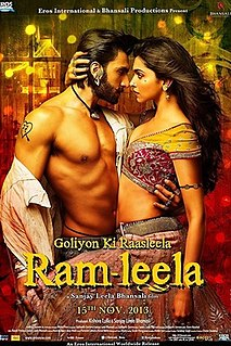 <i>Goliyon Ki Raasleela Ram-Leela</i> 2013 Indian Hindi-language tragic romance film