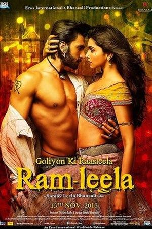 Goliyon Ki Raasleela Ram-Leela - Theatrical release poster