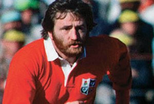 Ray Gravell - Gravell in action for the Lions in 1980