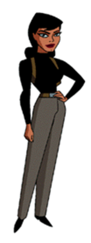 Renee Montoya - Renee Montoya, as she appeared in The New Batman Adventures.