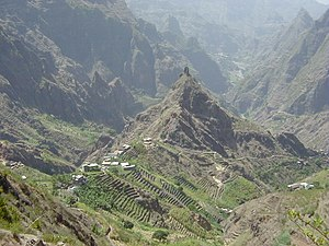 Geography of Cape Verde - Ribeira Torre on Santo Antão Island, Cape Verde.