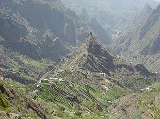 Geography of Cape Verde - Ribeira Torre on Santo Antão Island, Cape Verde.