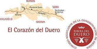 Ribera del Duero - Official seal of the Ribera del Duero Denominación de Origen (DO)