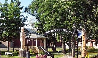 Campbellton, New Brunswick - Riverside Park - Campbellton.