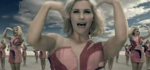Wear My Kiss - Heidi Range dances with clones of herself during the music video.