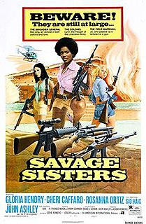 <i>Savage Sisters</i> 1974 film by Eddie Romero