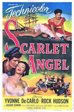 Scarlet Angel - Film poster by Reynold Brown
