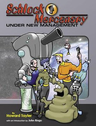 Schlock Mercenary - Image: Schlock Mercenary book 1 Under New Management