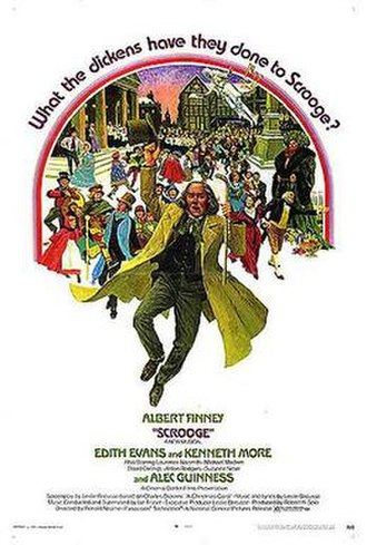 Scrooge (1970 film) - Theatrical release Poster by Joseph Bowler