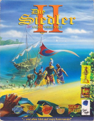 The Settlers II - German MS-DOS cover art