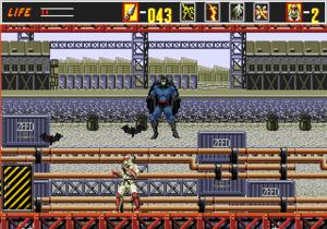 The Revenge of Shinobi - Batman in The Revenge of Shinobi