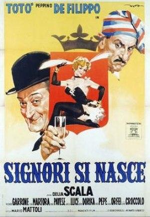 Gentlemen Are Born (1960 film) - Film poster