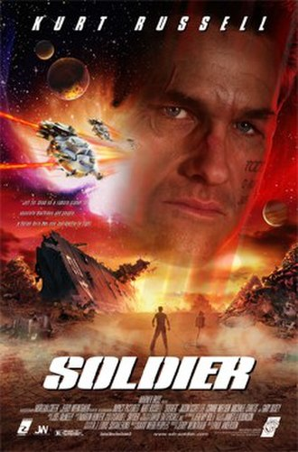 Soldier (1998 American film) - Theatrical release poster
