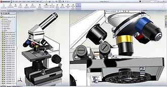 SolidWorks - Image: Solid Works 2012 Screenshot