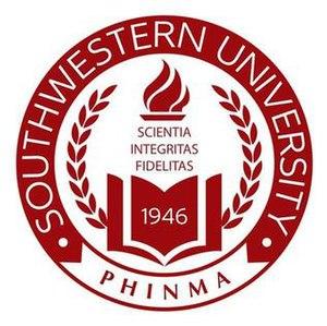 Southwestern University (Philippines) - Image: Southwenelogosealphi nma