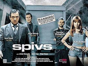 Spivs (film) - UK theatrical release poster