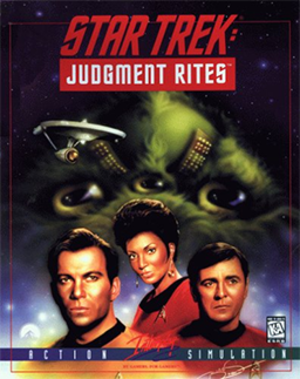 Star Trek: Judgment Rites - Image: Star Trek Judgment Rites Coverart