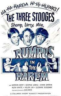 <i>Rumpus in the Harem</i> 1956 film by Jules White