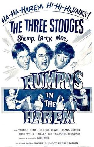 Rumpus in the Harem - Image: Stooge rumpus 53