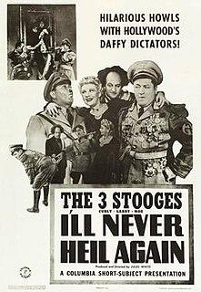 <i>Ill Never Heil Again</i> 1941 film by Jules White
