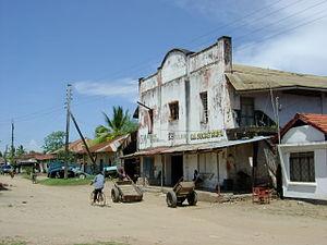 Pangani -  Street scene in Pangani