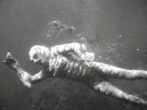 Gill-man - The Gill-man in his natural habitat, as portrayed by Ricou Browning in Creature from the Black Lagoon
