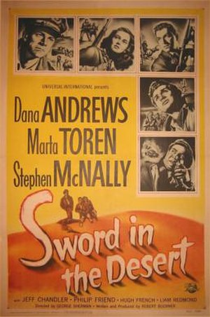 Sword in the Desert - Theatrical poster