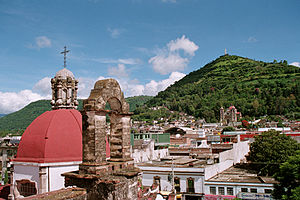 Tenancingo, State of Mexico - Hill of the Three Marias