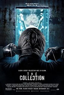 <i>The Collection</i> (film) 2012 American horror film directed by Marcus Dunstan